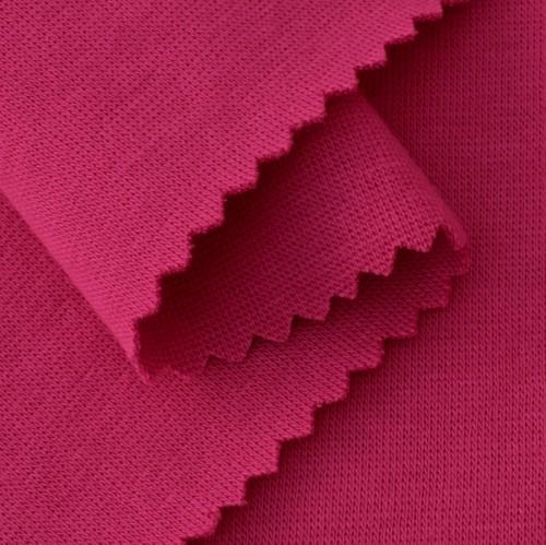 Bio Bündchenstoff pink