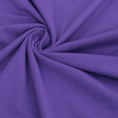 Bio Stretch-Jersey lila