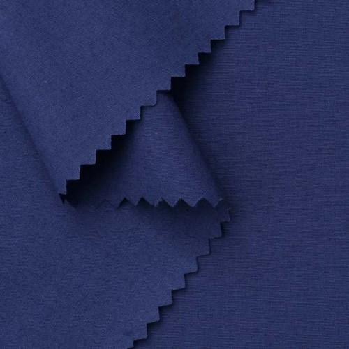 Bio Popeline kobaltblau