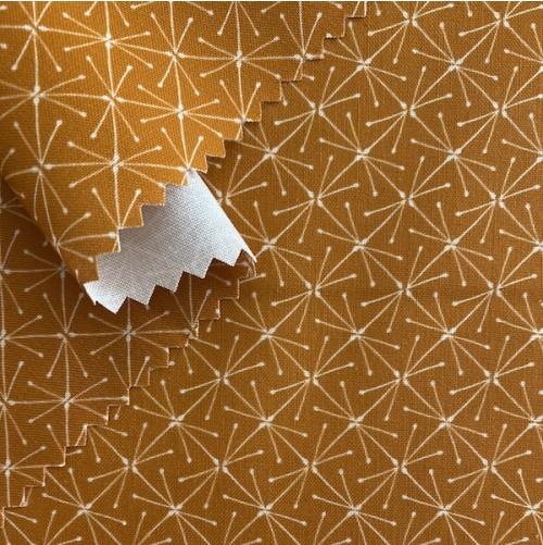 Bio Popeline Sparks terracotta