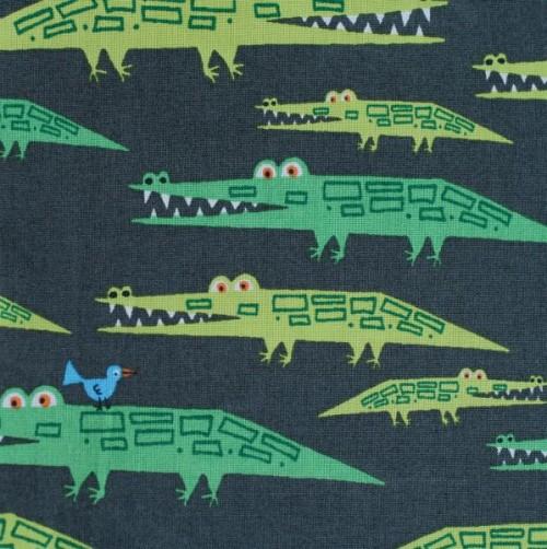 Bio Popeline Krokodil