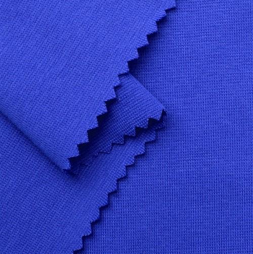 Bio Bündchenstoff royalblau