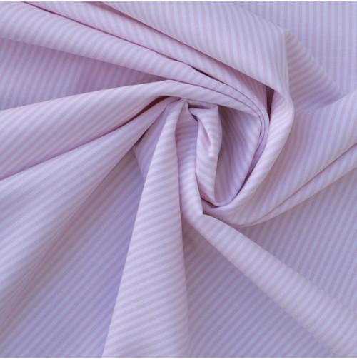 Bio-Stoff Webstreifen pastellrosa