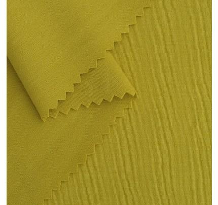 Bio Interlock-Jersey gelbgrün