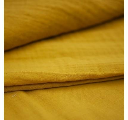 Bio Musselin/Doppel-Mull Tawny Olive