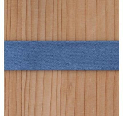 Bio Schrägband sturmblau