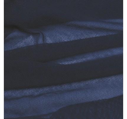 Bio Baumwoll-Soft-Tüll marine
